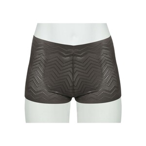 Cortigiani Women's Boxer Short 23-19016 Coffee