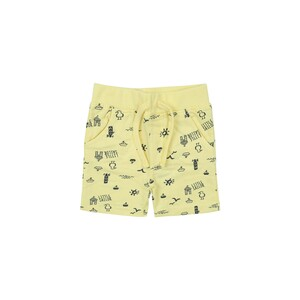 Eten Infants Boys Knitted Shorts Yellow 6M-24M