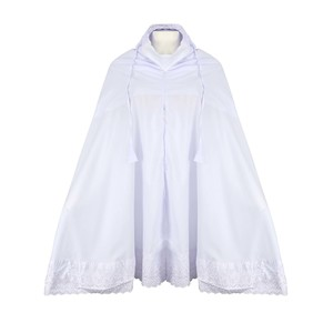 Eten Women's Prayer Dress VLP-04 White Free Size