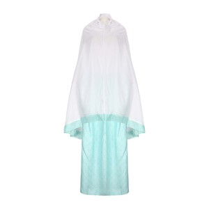 Cortigiani Women's Prayer Dress 2 Pcs Set A308 White Blue Free Size