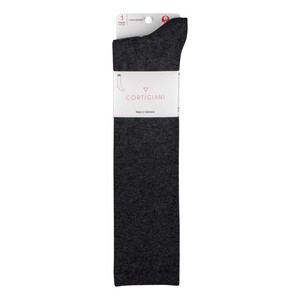 Cortigiani Women's Long Socks CSXL-02 Grey Free Size
