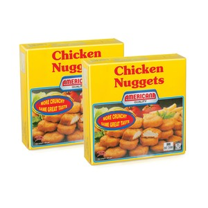 Americana Chicken Nuggets 2 X 400g