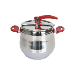 Berlin Stainless Steel Pressure Cooker 10Ltr BER1136