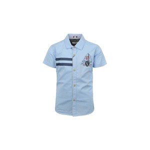 Ruff Boys Shirt Short Sleeve SB05517L Sky Blue 2-8Y