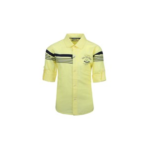 Ruff Boys Shirt Long Sleeve SB05537L Lemon 2-8Y