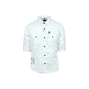 Ruff Boys Shirt Long Sleeve SK05526L White 10-16Y