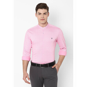 Allen Solly Men's Casual Shirt Long Sleeve ASSFWKTFH09320 Pink