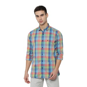 Allen Solly Men's Casual Shirt Long Sleeve ASSFWSPFT07127 Multi 39