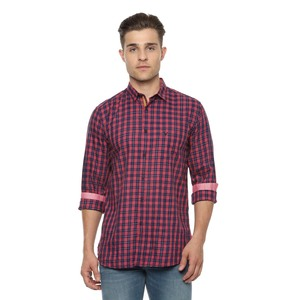 Allen Solly Men's Casual Shirt Long Sleeve ASSFWSPFW02932 Pink