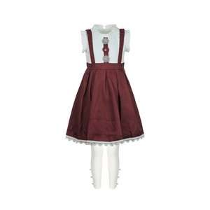Debackers Girls Dress Cap Sleeve With Leggings Red 2-8Y
