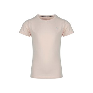 Eten Girls Basic T-Shirt Round-Neck Short Sleeve Quartz Pink GTB-07 10-16Y
