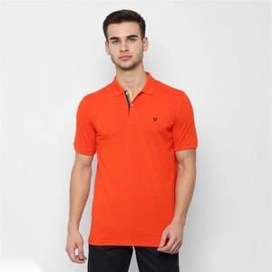 Allen Solly Men's Polo T-Shirt Short Sleeve ASKPWRGFL92956 Orange