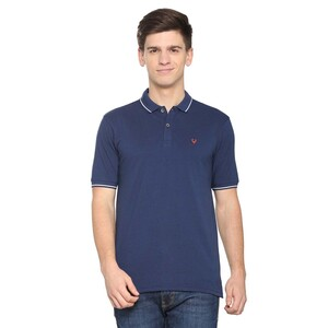 Allen Solly Men's Polo T-Shirt Short Sleeve ASKPWRGP529444 Dark Blue27