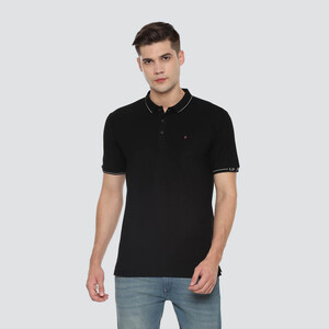 LP Youth Men's Polo T-Shirt Short Sleeve LRKPDSLFN74012 Black