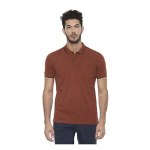 LP Youth Men's Polo T-Shirt Short Sleeve LYKPMSLFF86506 Tan