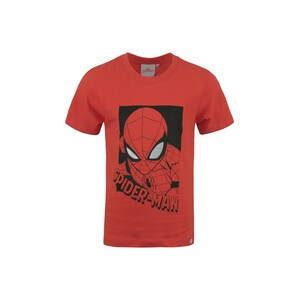 Spiderman Boys Round Neck T-Shirt Short Sleeve LW20S-503 Red 2-8Y