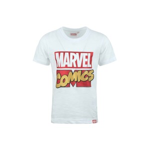 Marvel Boys Round Neck T-Shirt Short Sleeve LW20S-509 White 2-8Y