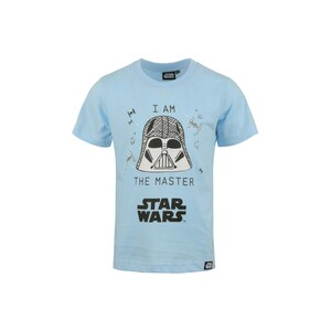 Starwras Boys Round Neck T-Shirt Short Sleeve LW20S517 Sky Blue 2-8Y