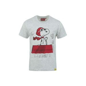 Peanuts Boys Round Neck T-Shirt Short Sleeve LW20S522 White2-8Y
