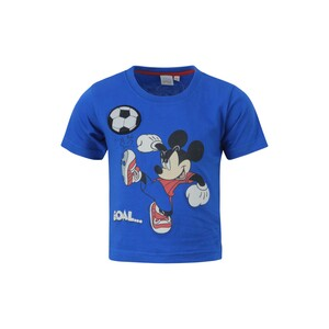Disney Mickey Mouse Boys Round Neck T-Shirt SS20IB-M3 Royal Blue 6-24Month
