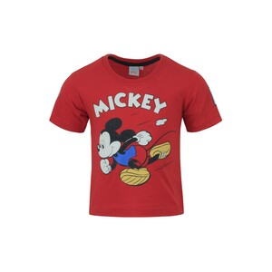 Disney Mickey Mouse Boys Round Neck T-Shirt SS20IB-M5 Red 6-24Month