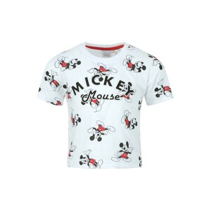 Disney Mickey Mouse Boys Round Neck T-Shirt SS20IB-M7 White 6-24Month