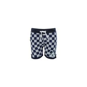 Disney Mickey Mouse Boys Knit Shorts SS20-IB-M11 Printed Check 6-24Month
