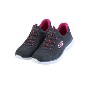 Skechers Ladies Sport Shoes 12980 CharcoalPurple