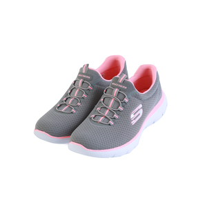 Skechers Ladies Sport Shoes 12980 GreyPink