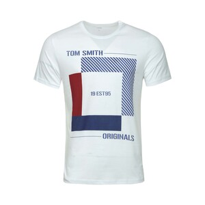 Tom Smith Men's Round-Neck T-Shirt S/S 1794A