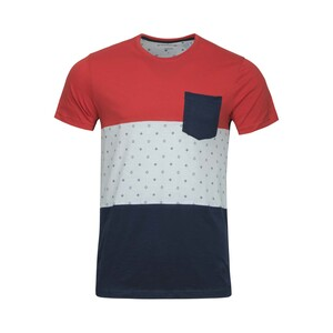 Tom Smith Men's Round-Neck T-Shirt S/S 8864A