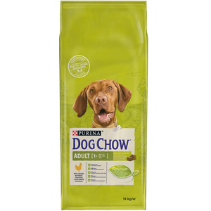 Purina Dog Chow Adult +1 year with Chicken Dry Dog Food 14kg