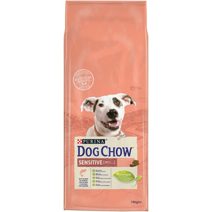 Purina Dog Chow Sensitive with Salmon Dry Dog Food 14kg