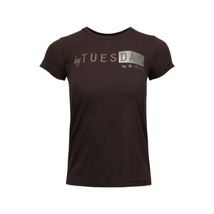 Debackers Womens' T-Shirt Short Sleeve Tue Brown