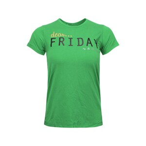 Debackers Womens' T-Shirt Short Sleeve Fri Green