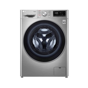 LG Front Load Washing Machine F4V5VYP2T 9KG Stainless Silver