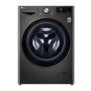 LG Front Load Washer & Dryer F4V9RCP2E 10/7KG, Bigger Capacity, AI DD, Steam, ThinQ