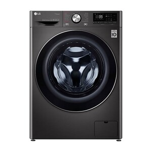 LG Front Load Washing Machine F4V9RWP2E 10 Kg, Bigger Capacity, AI DD™, Steam+™, ThinQ™