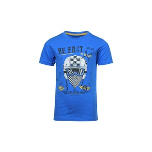 Blue Seven Boys T-Shirt Round-Neck Short Sleeve 802128 Blue 2-8Y
