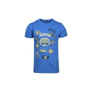 Blue Seven Boys T-Shirt Round-Neck Short Sleeve 802131 Blue 2-8Y