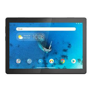"Lenovo Tablet M10HD TB-X505F, Quad-Core 2.0GHz, 2GB RAM, 16GB Memory, 10.1"" Display, Android 9, Wi-Fi, Slate Black"