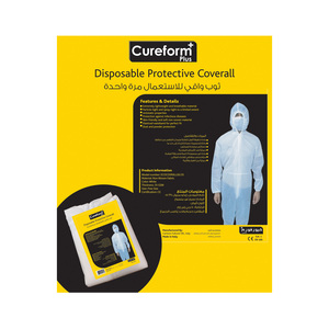 Cureform Plus Disposable Protective Coverall 1pc