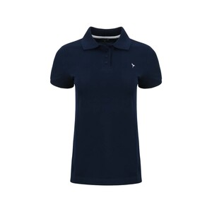 Eten Women's Polo T-Shirt Short Sleeve SCCPOLO05 Navy