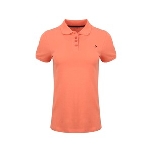 Eten Women's Polo T-Shirt Short Sleeve SCCPOLO08 Coral