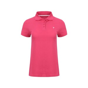 Eten Women's Polo T-Shirt Short Sleeve SCCPOLO07 Fushia