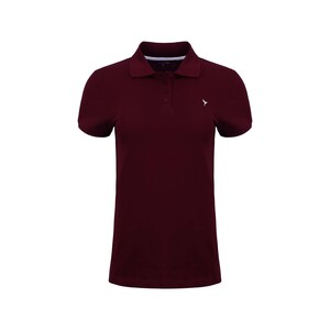 Eten Women's Polo T-Shirt Short Sleeve SCCPOLO04 Maroon
