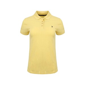 Eten Women's Polo T-Shirt Short Sleeve SCCPOLO10 Yellow
