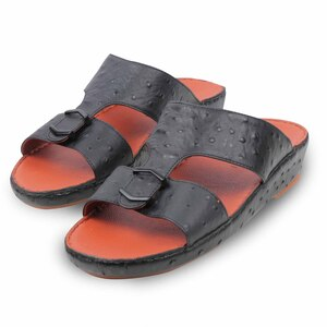 Cortigiani Men Arabic Slippers M-2341 Black