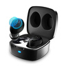 Motorola Verve Buds 100, True Wireless Bluetooth Waterproof Earbuds with 12 Hours Battery, Mic, Mono Mode and Portable Charging Case - Black