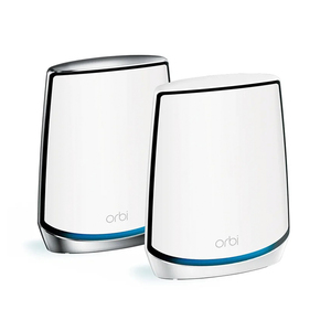 Netgear Orbi Whole Home Tri-Band Mesh WiFi 6 System (RBK852)  Router With 1 Satellite Extender , Coverage Up to 5,000 sq. ft. and 60+ Devices , 11AX Mesh AX6000 WiFi (Up to 6Gbps)